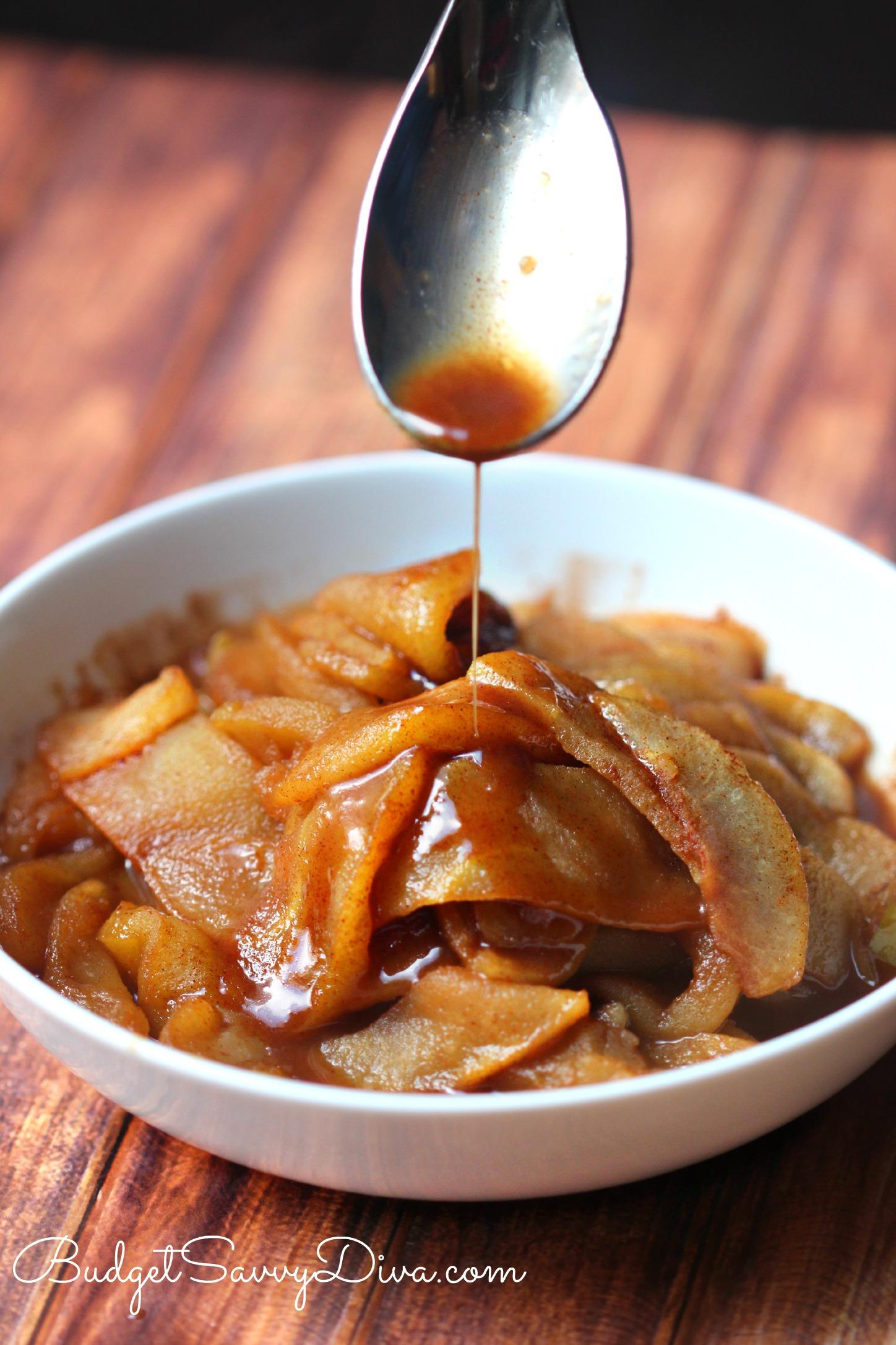 Cracker Barrel Fried Apples Recipe Budget Savvy Diva