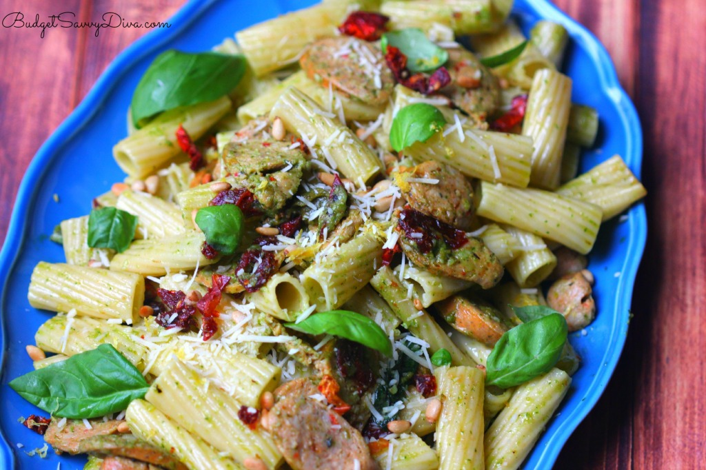 Pesto Pasta with Chicken Sausage Recipe