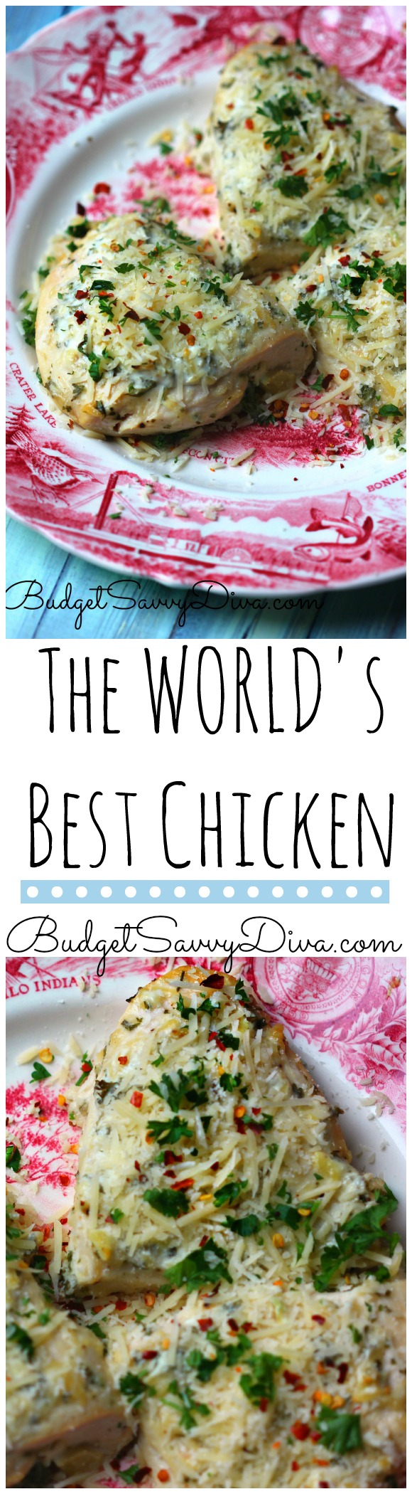 The World's Best Chicken Recipe
