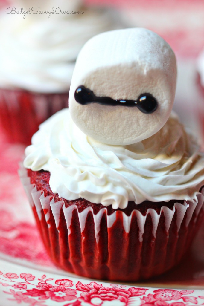 Big Hero 6 Cupcakes Recipe - Baymax