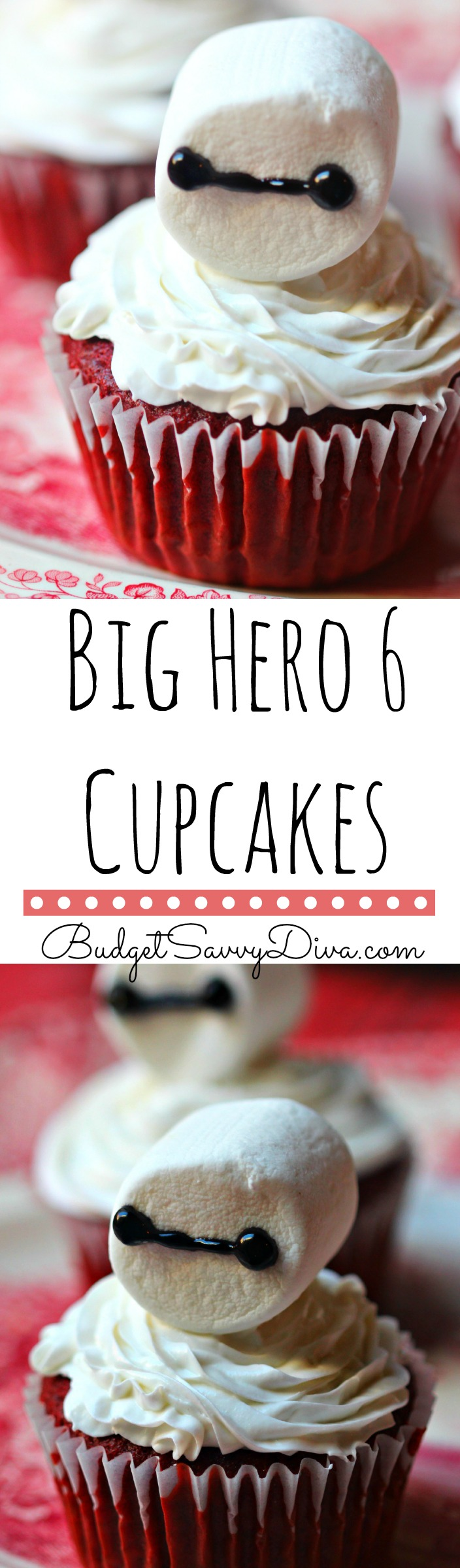 Big Hero 6 Cupcakes Recipe - Baymax
