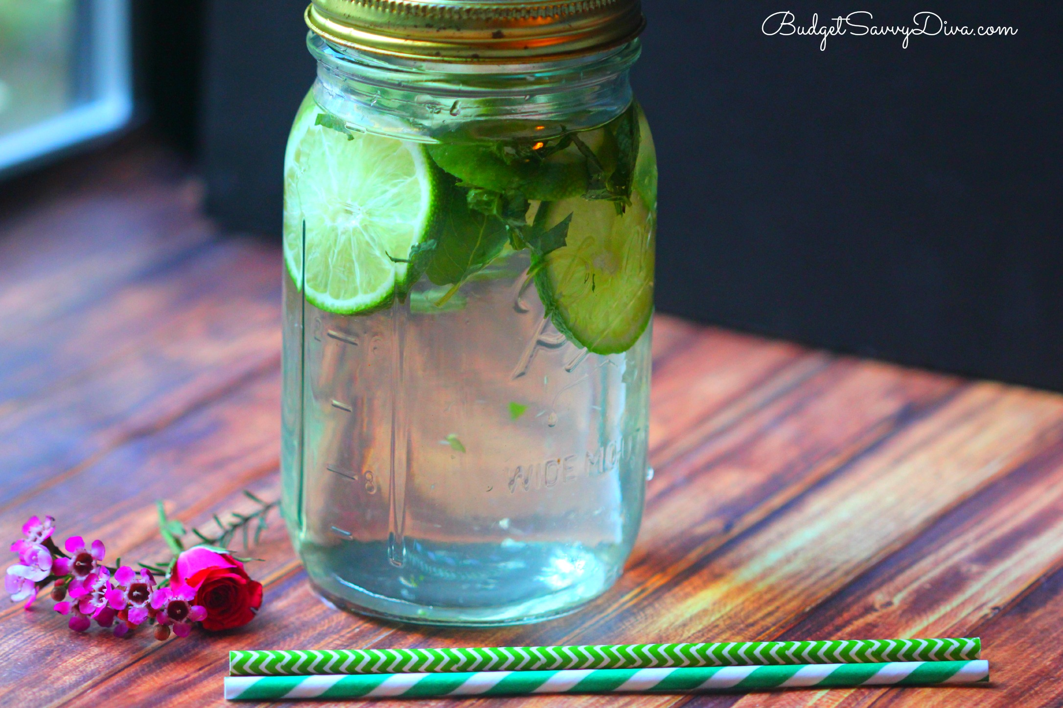 Green Tea Mint And Lime Detox