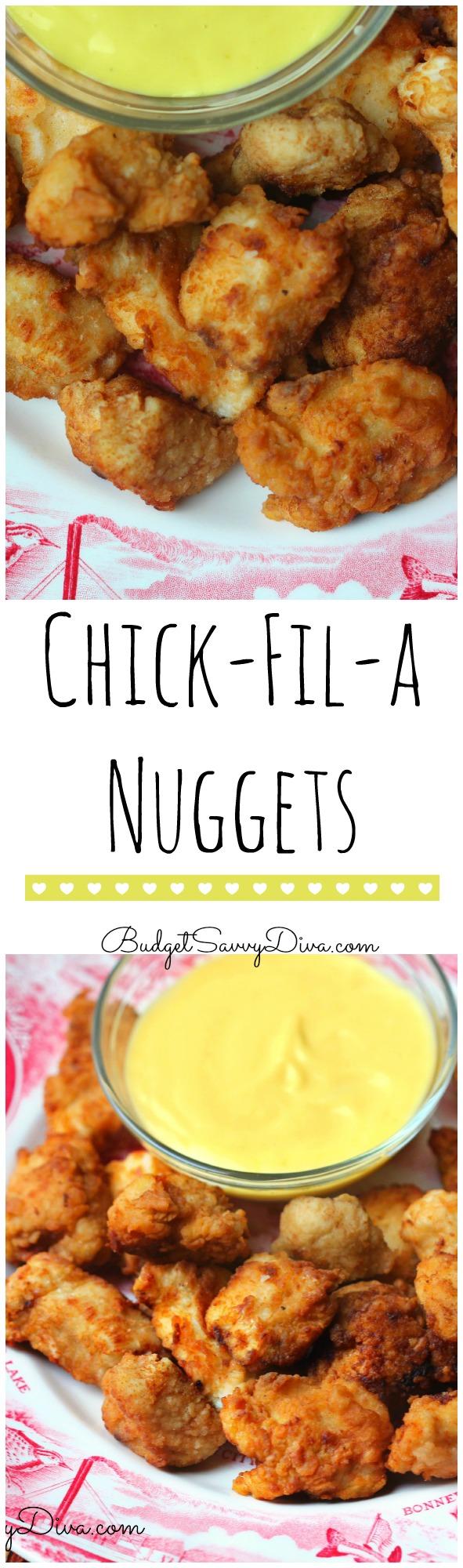Copy Cat Recipe - Chick - Fil - A Nuggets