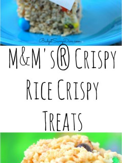 M&M's® Crispy Rice Crispy Treats
