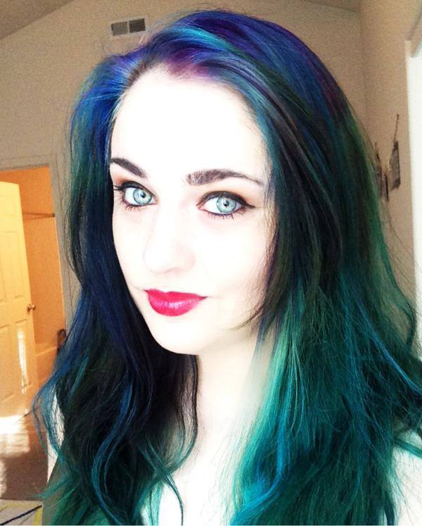 How To Do Mermaid Hair Color – ONLY $20 Cost | Budget Savvy Diva