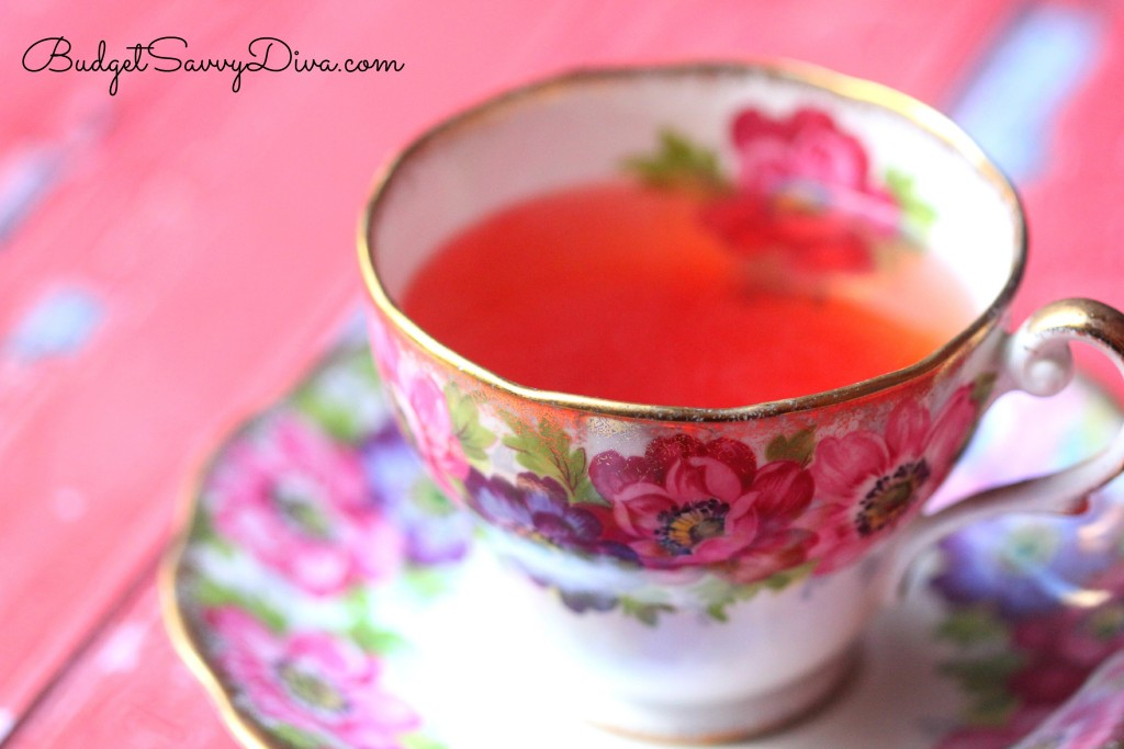 Fat Burning Tea Recipe