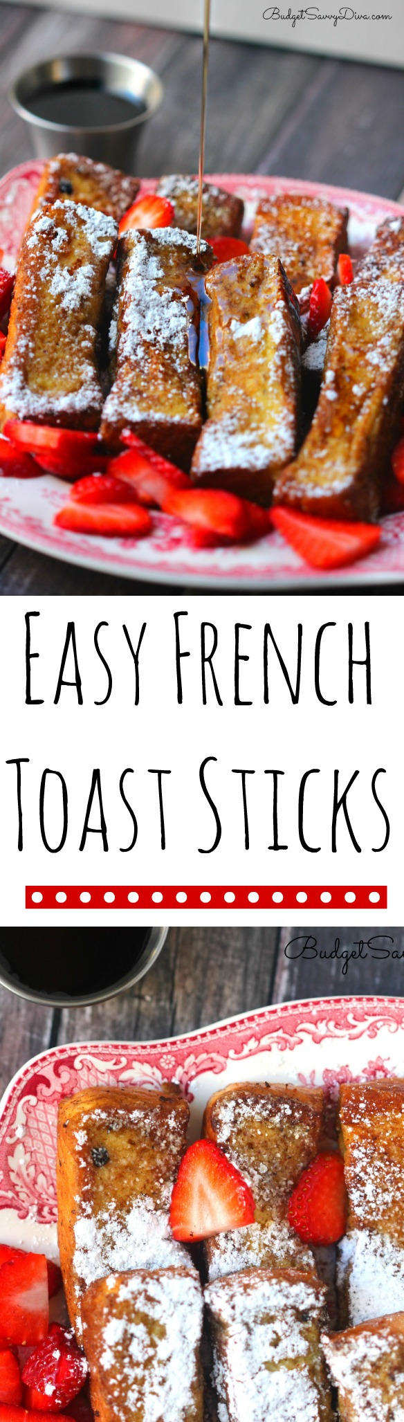 Easy French Toast Sticks Recipe