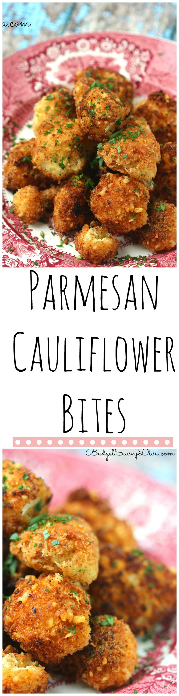 Parmesan Cauliflower Bites Recipe