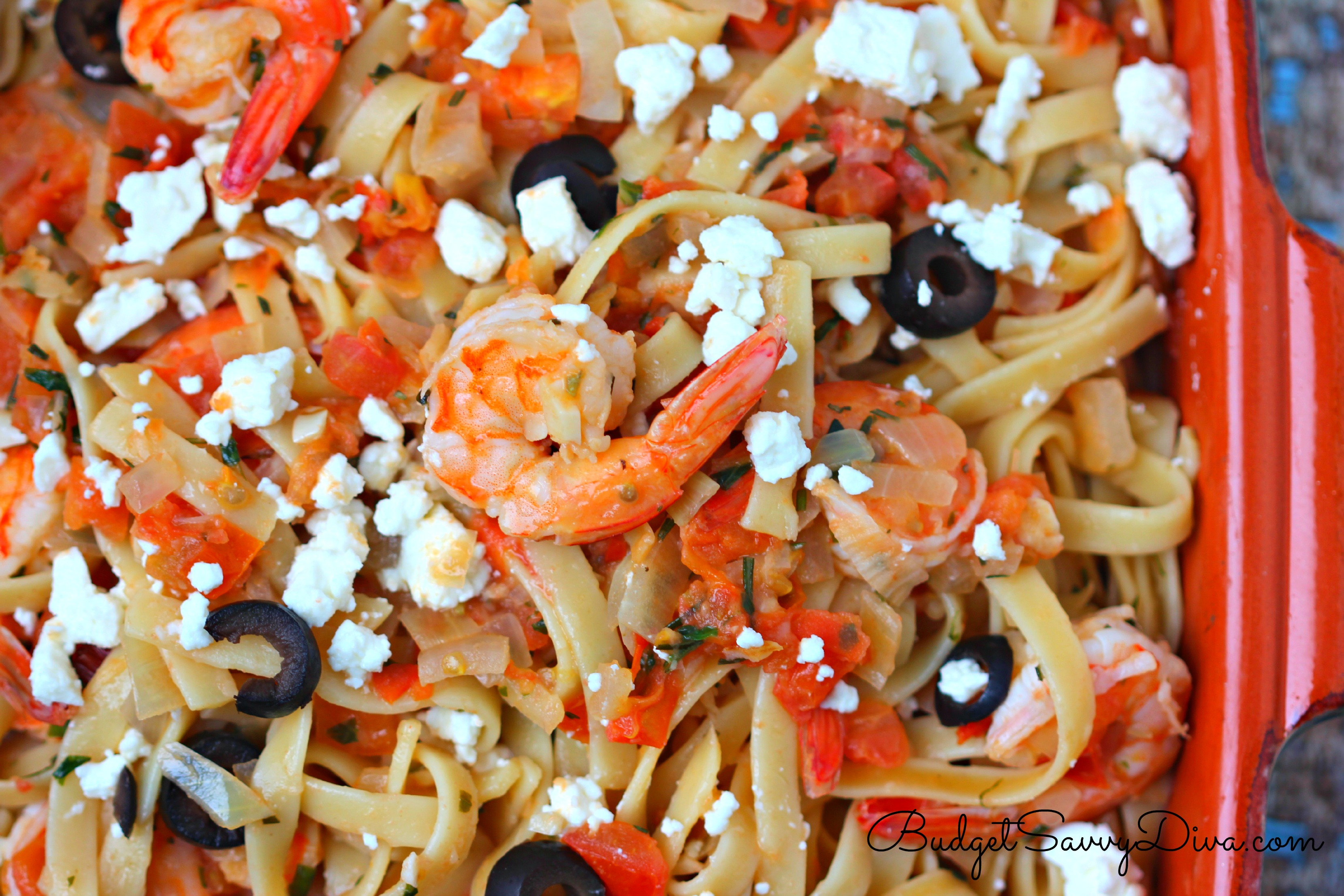 Garlic Shrimp Pasta Recipe Budget Savvy Diva