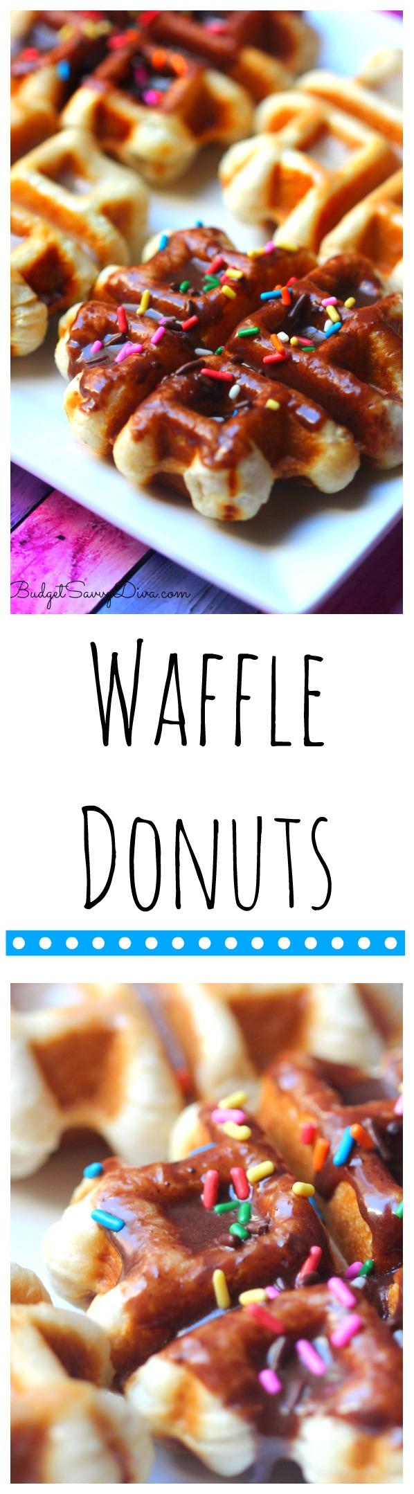Waffle Donuts Recipe
