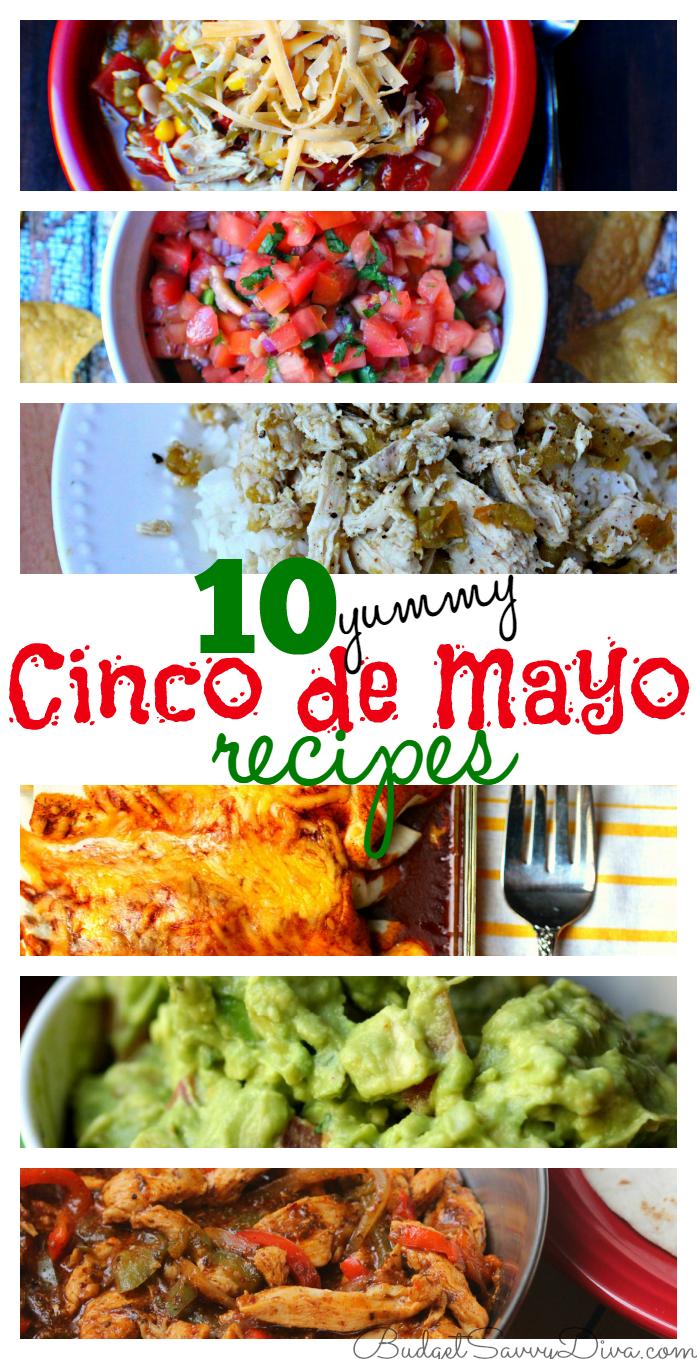 10 Yummy Cinco de Mayo Recipes