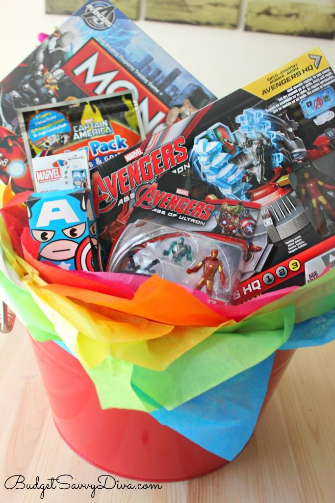 Avengers Gift Basket 3