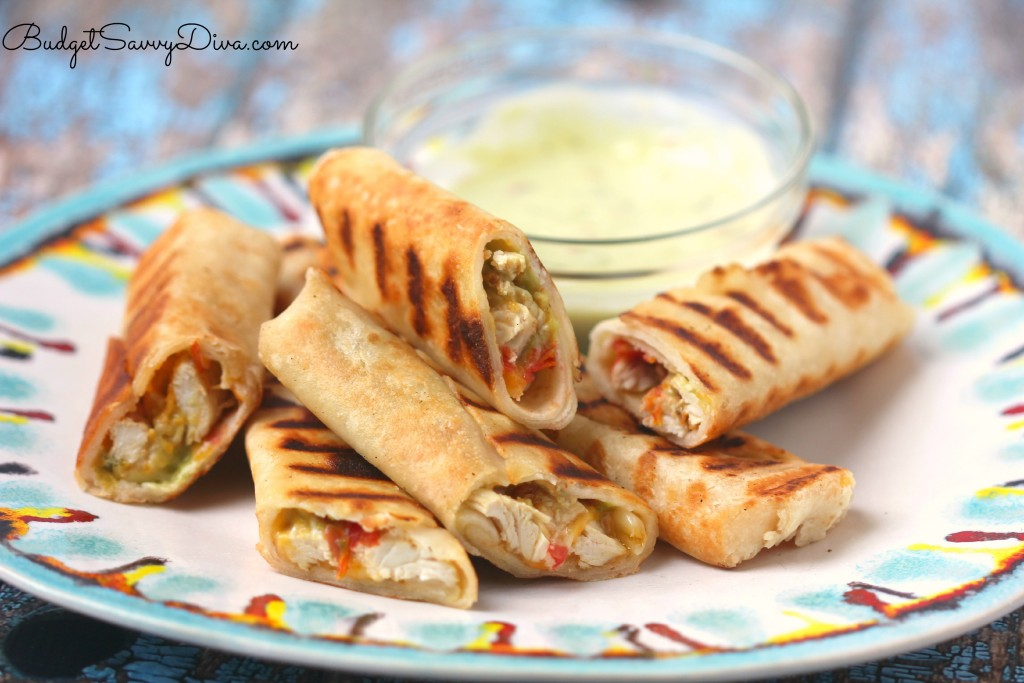 Cheesy Quesadilla Roll Recipe