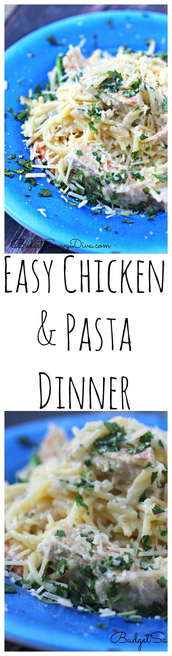Easy Chicken and Pasta Dinner Recipe