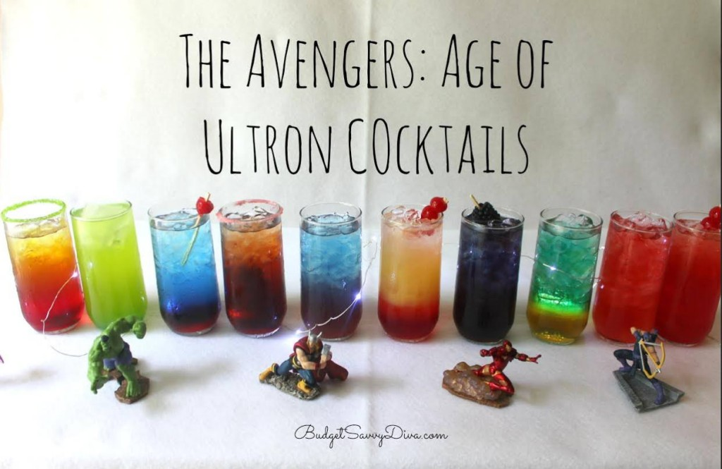 Avenger Cocktails