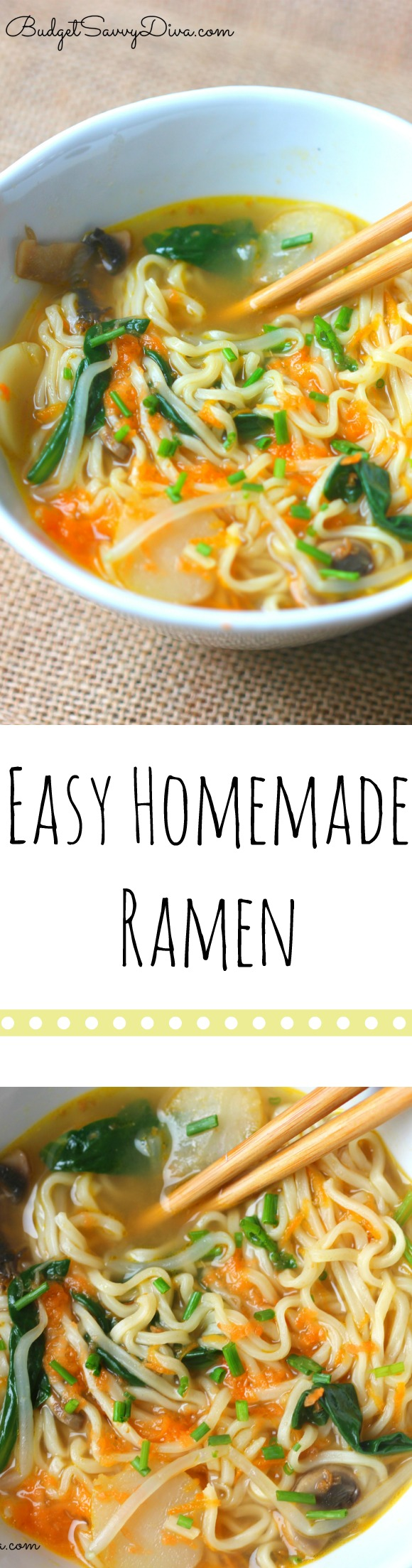 Easy Homemade Ramen Recipe