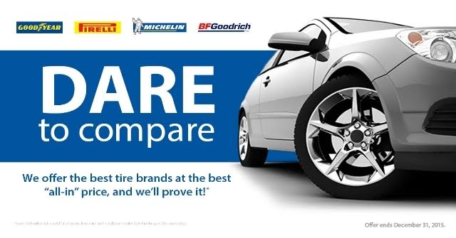 Deals On Tires >> Sam S Club Dare To Compare The Best Deals On Tires Budget
