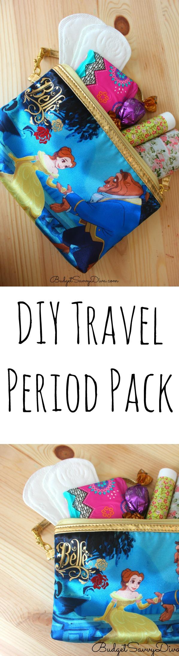 DIY Travel Period Pack