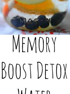 Memory Boosting Water