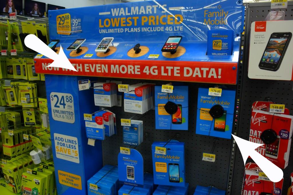 Walmart phone 8