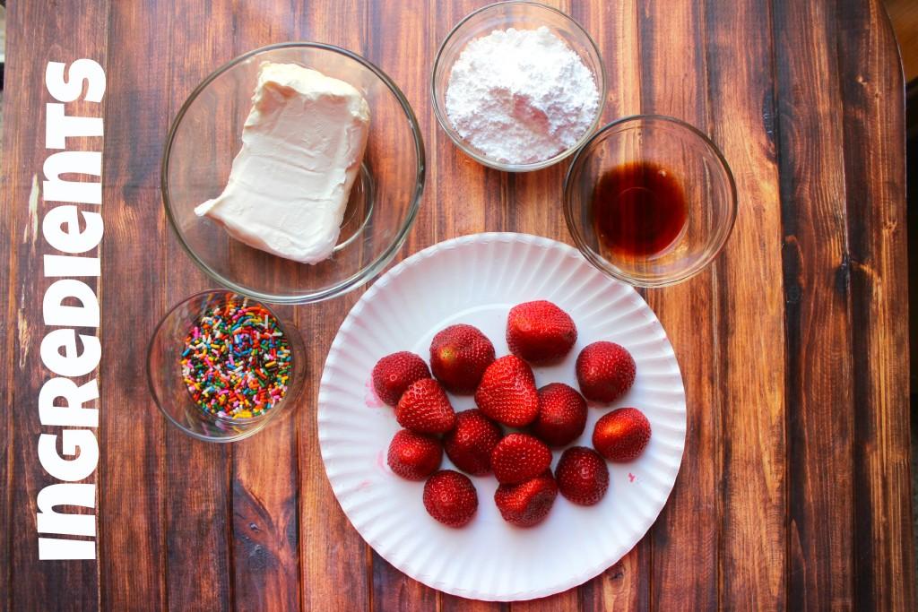 Strawberry Cheesecake Ingredients