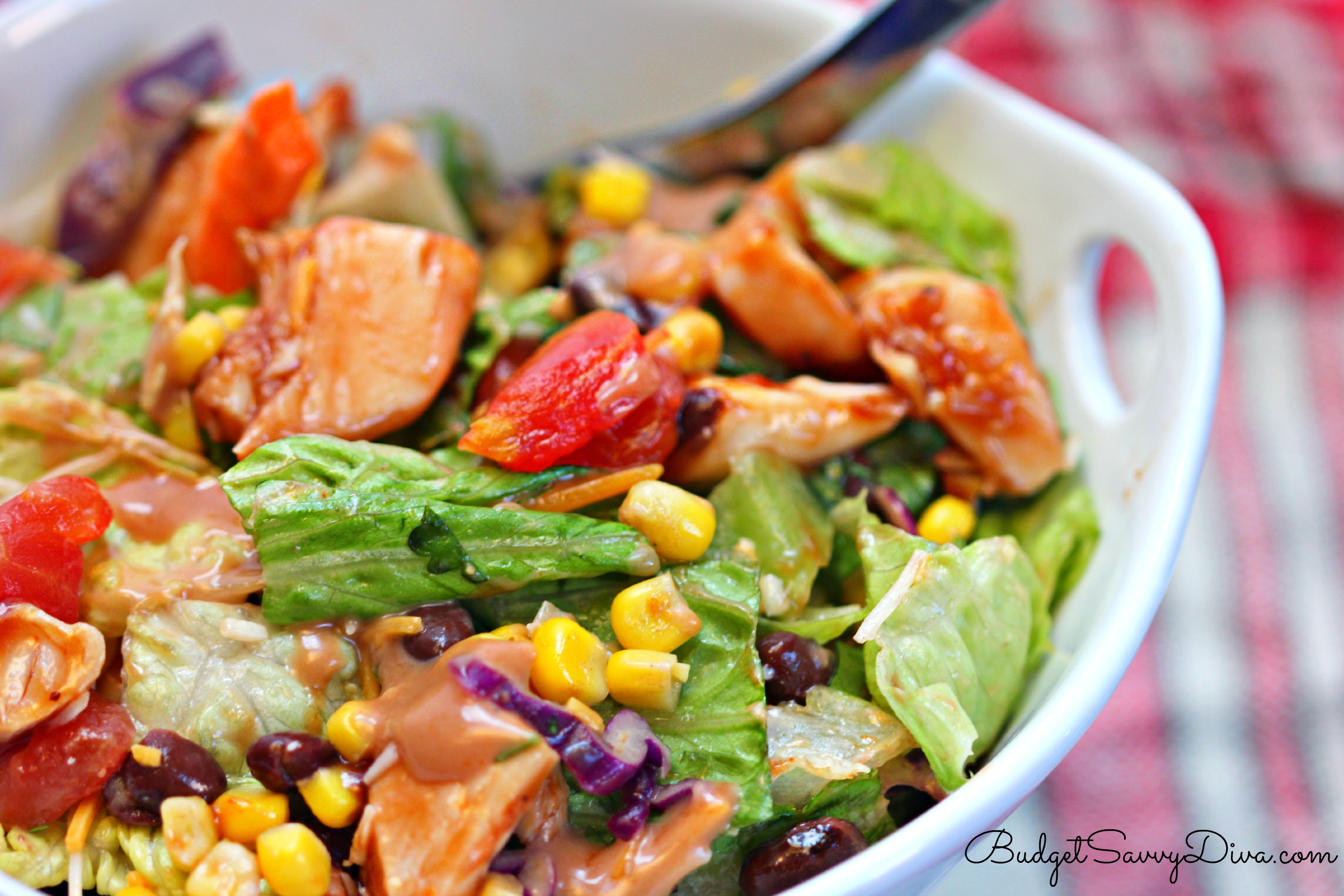 bbq salad chicken recipe salads recipes amazing live budgetsavvydiva personally favorite type