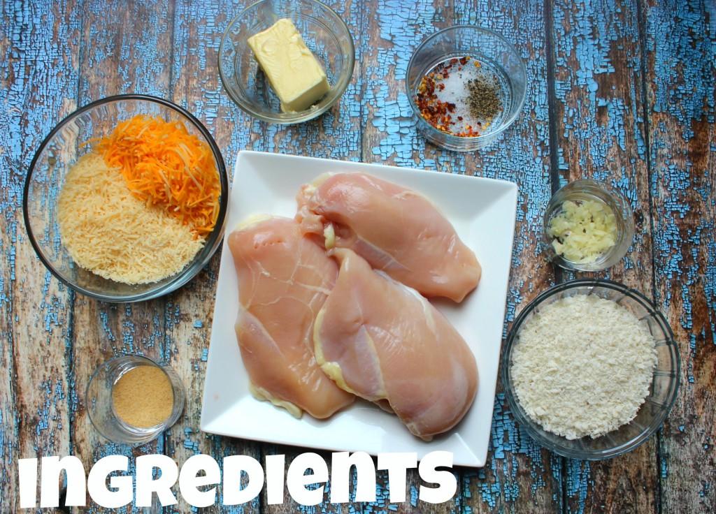 Cheddar Chicken Ingredients