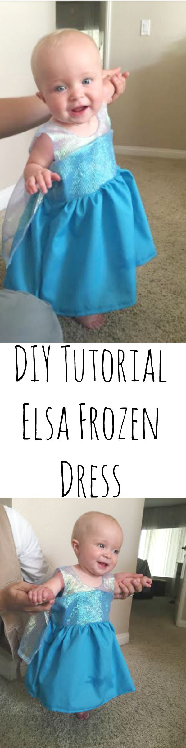 DIY Tutorial - Elsa Frozen Dress