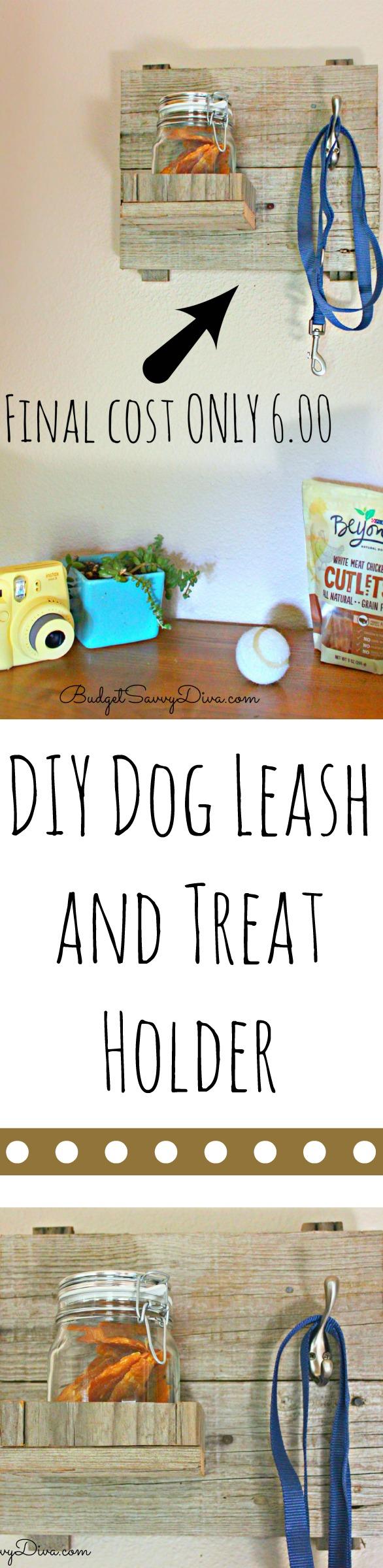 DIY Dog Leash and Treat Holder Purina Beyond