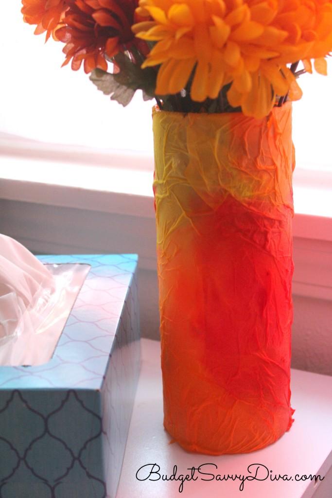 Tissue Vase