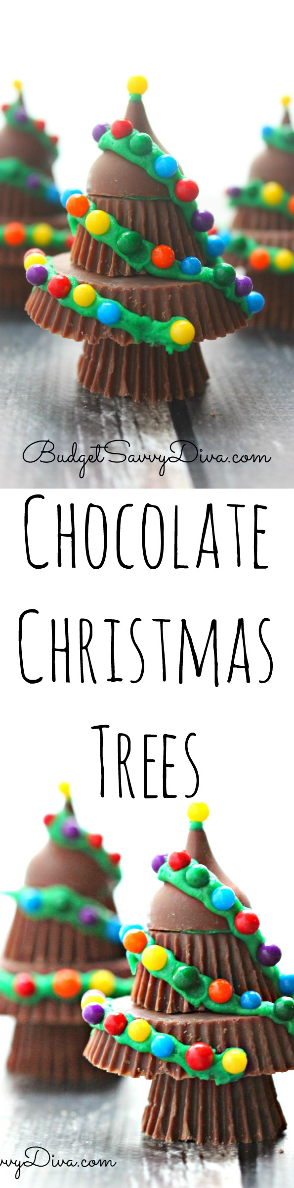 Chocolate Christmas Trees Recipe | Budget Savvy Diva