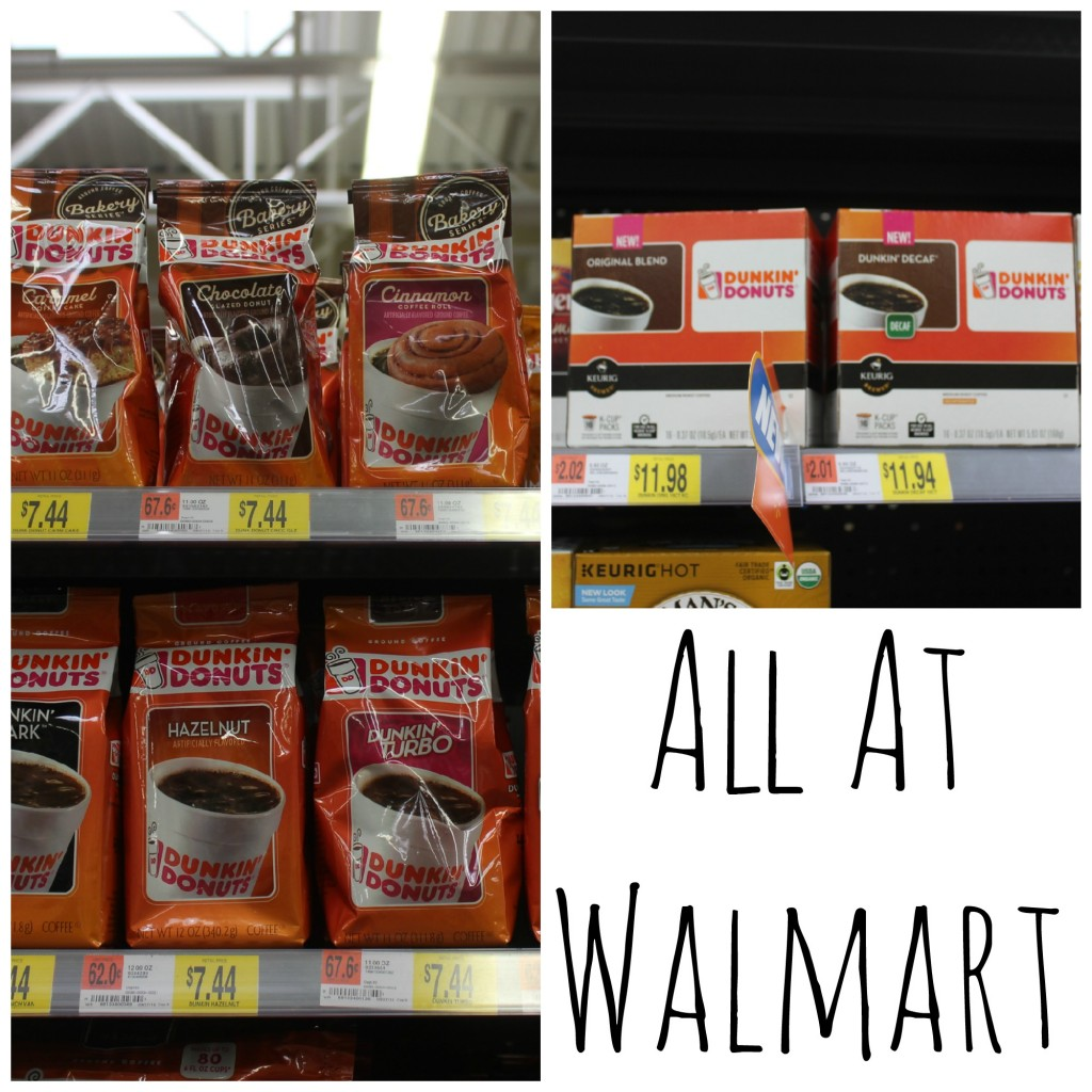 Dunkin Walmart