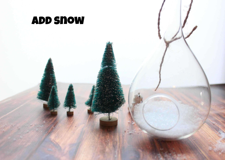How to Make a Terrarium Christmas Ornament   Budget Savvy Diva