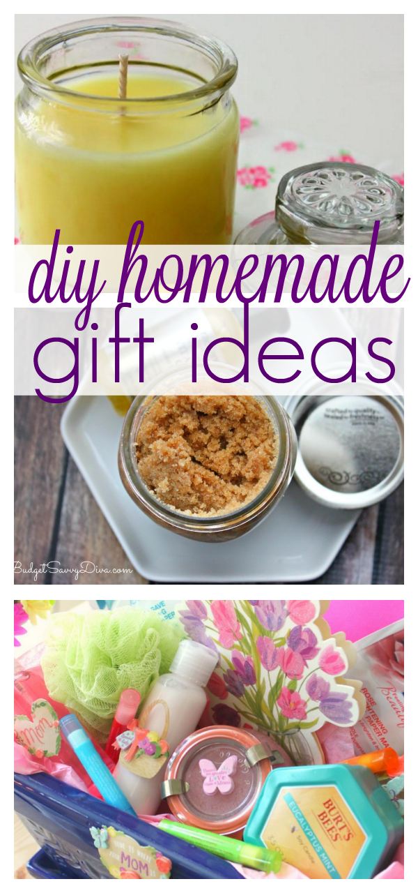10 diy homemade gift ideas budget savvy diva gift giving doesnt have to be expensive especially when you can make it yourself here are some of my popular diy homemade gift ideas to help inspire you solutioingenieria Images