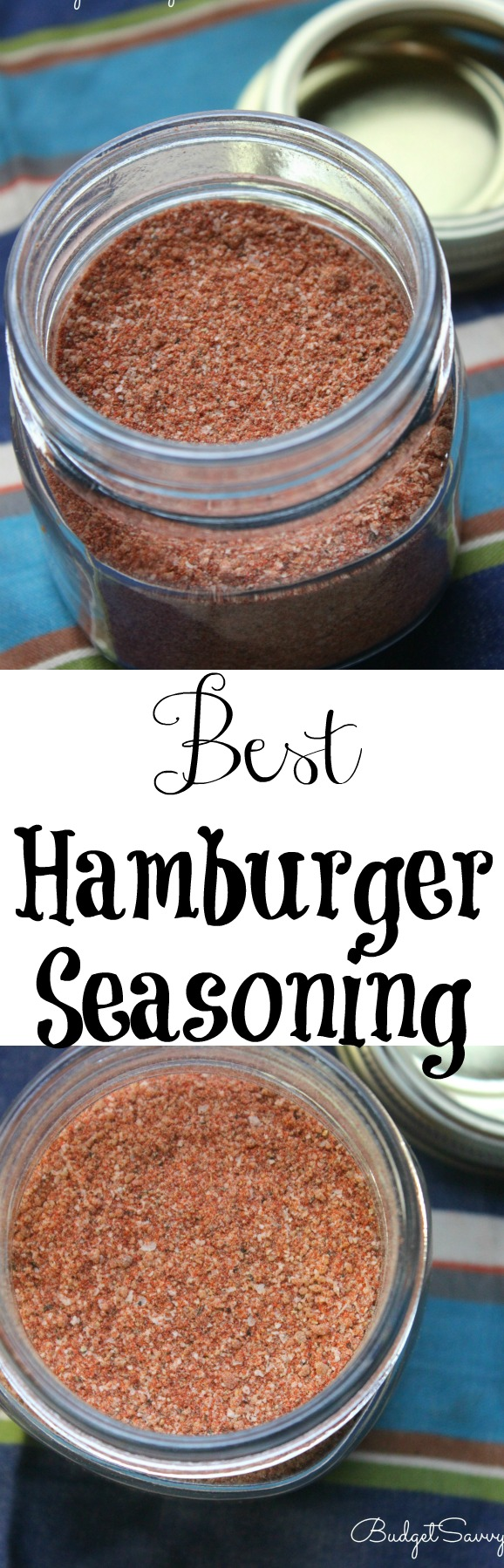 Best Hamburger Seasoning