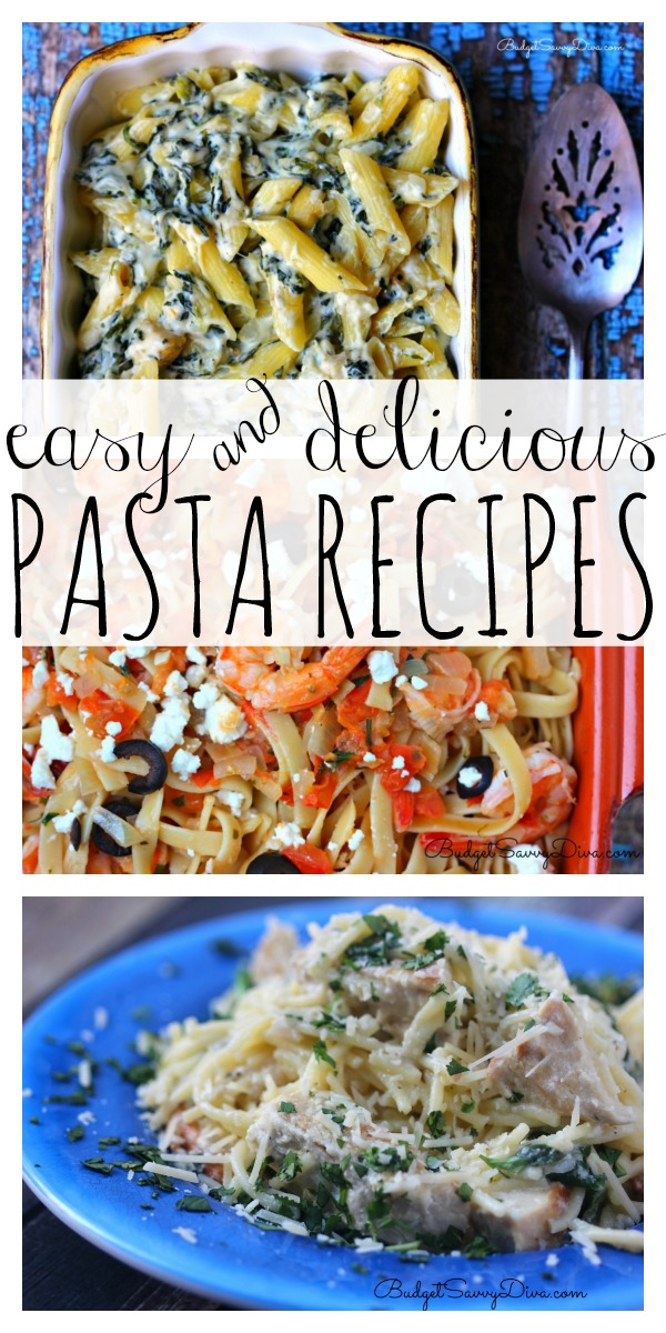 If You Love Pasta As Much I Do Then Are Going To LOVE My Easy Recipe Ideas