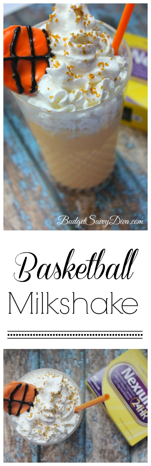 Basketball Milkshake Recipe