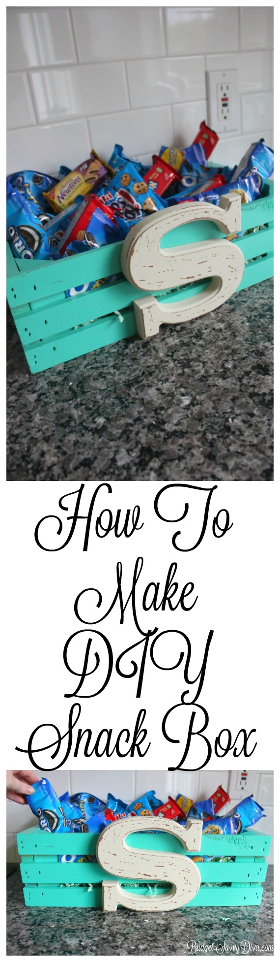 How To Make DIY Snack Box