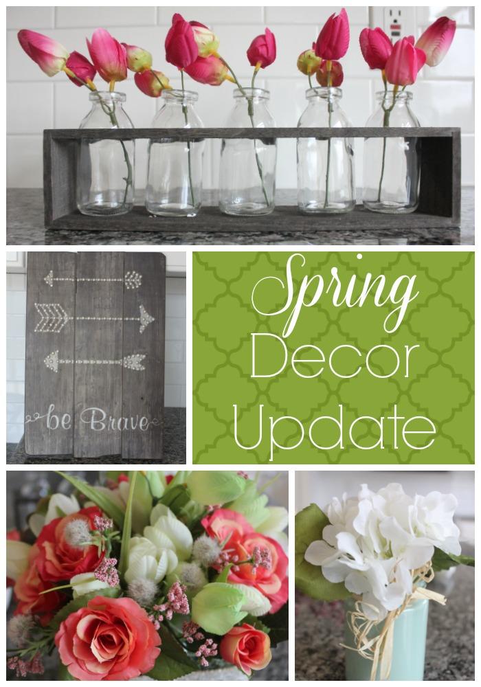 Spring Decor Update