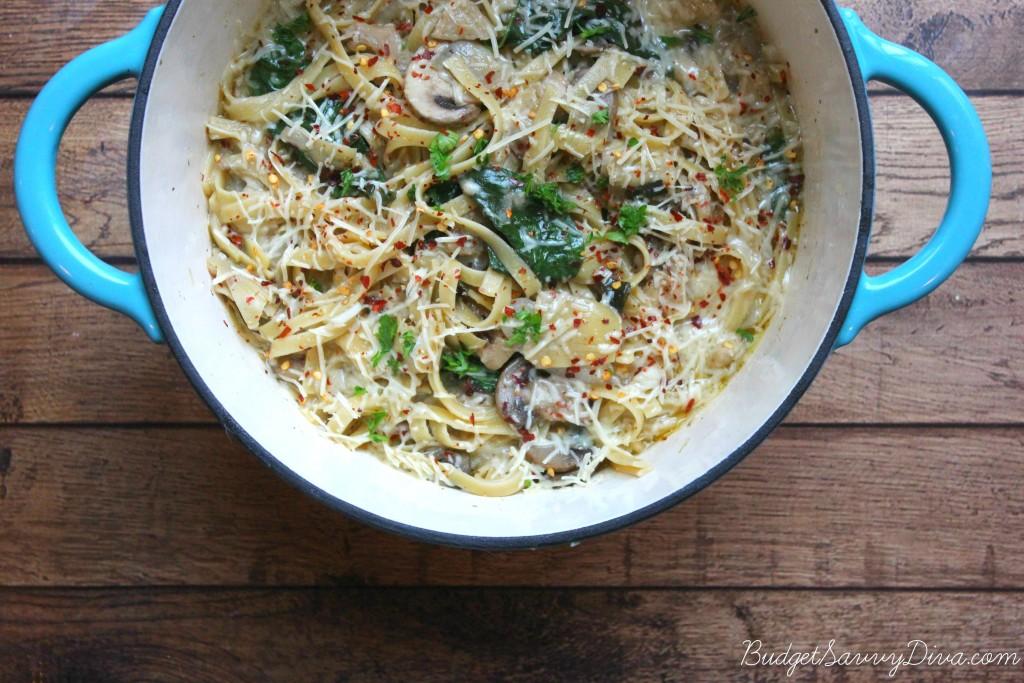 Mushroom Pasta 2
