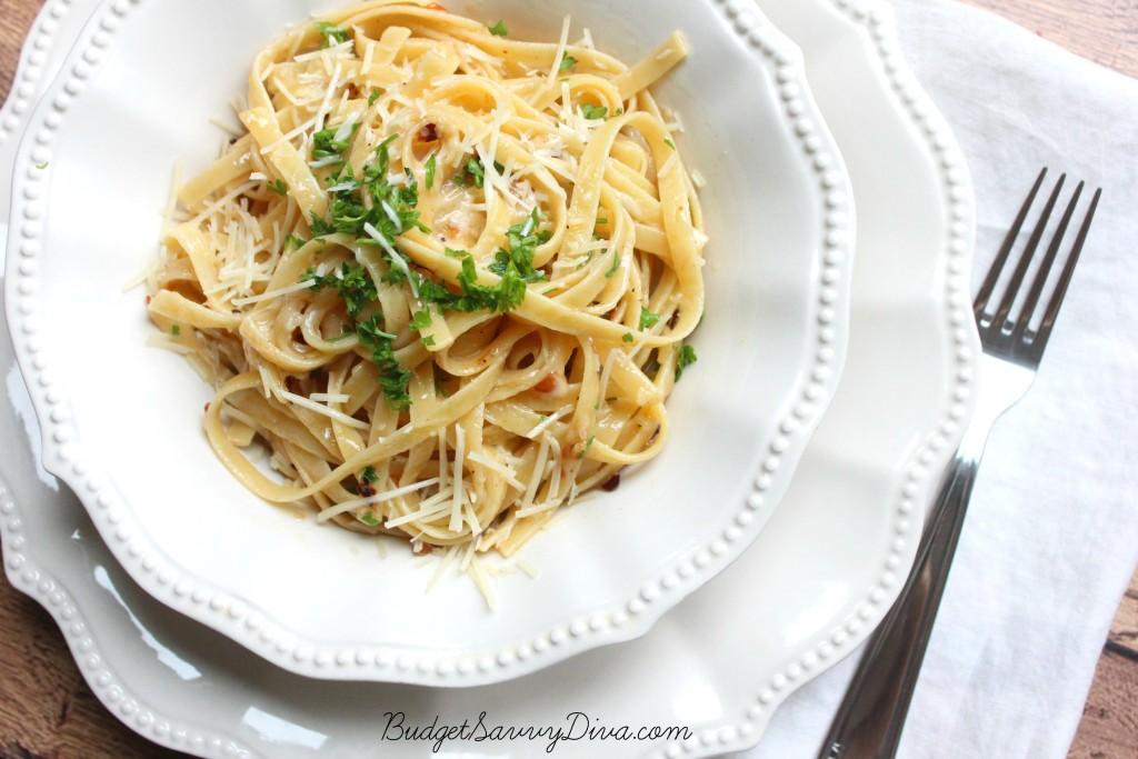 Parmesan Garlic Spaghetti 4
