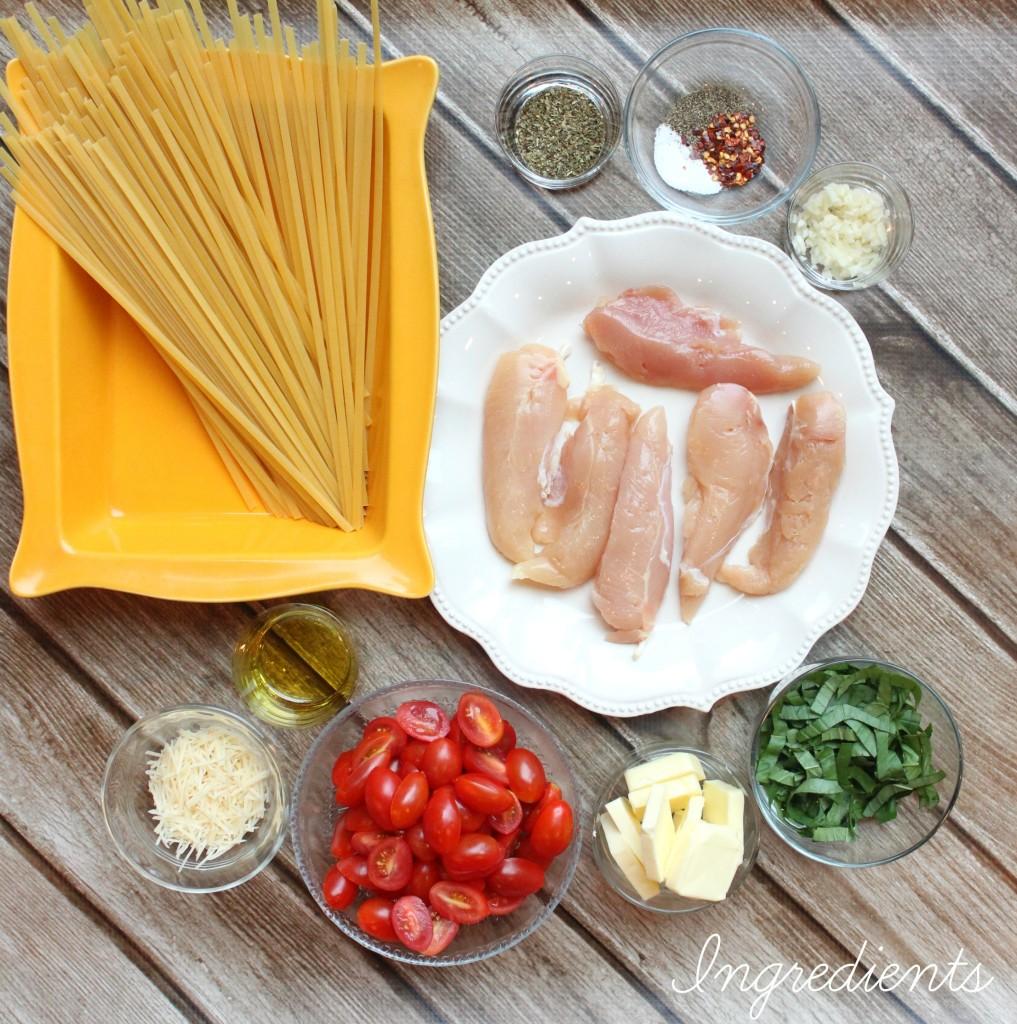 Tomato Basil Chicken Pasta 4