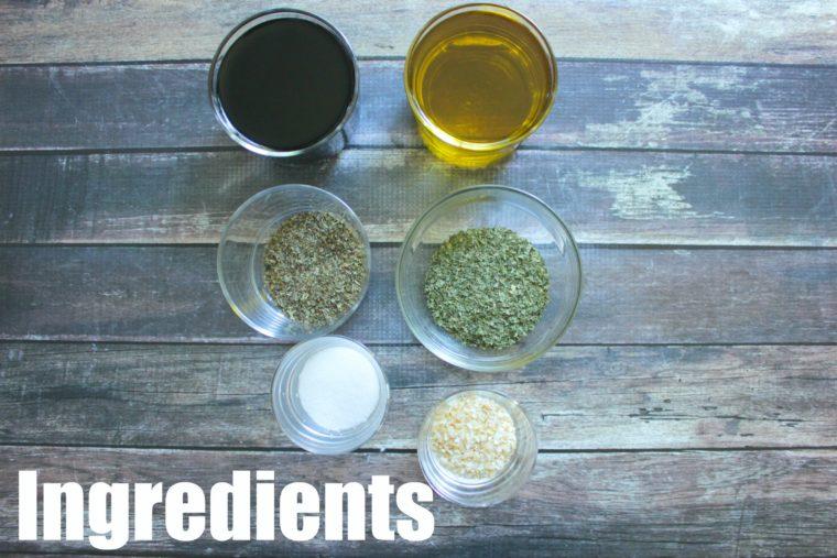 Balsamic Vinagrette Ingredients