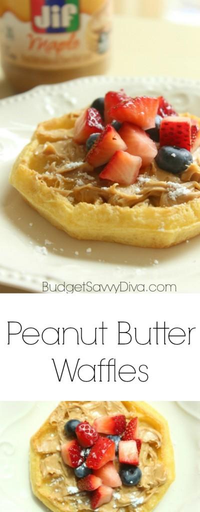 Peanut Butter Waffles JIF