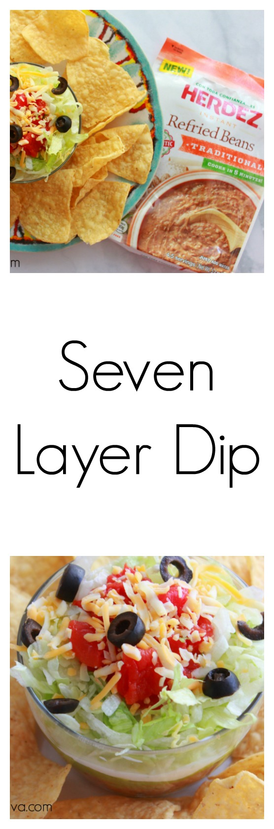 seven layer dip print sara ingredients 1 bag of herdez
