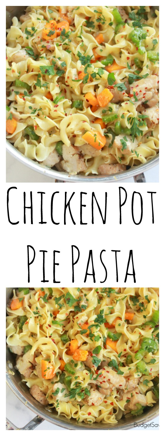 Baked Chicken Pot Pie Pasta Recipe — Dishmaps