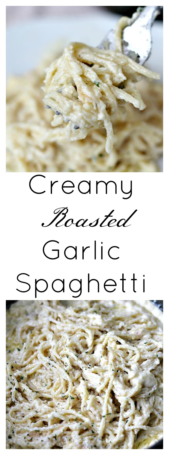 creamy-roasted-garlic-spaghetti