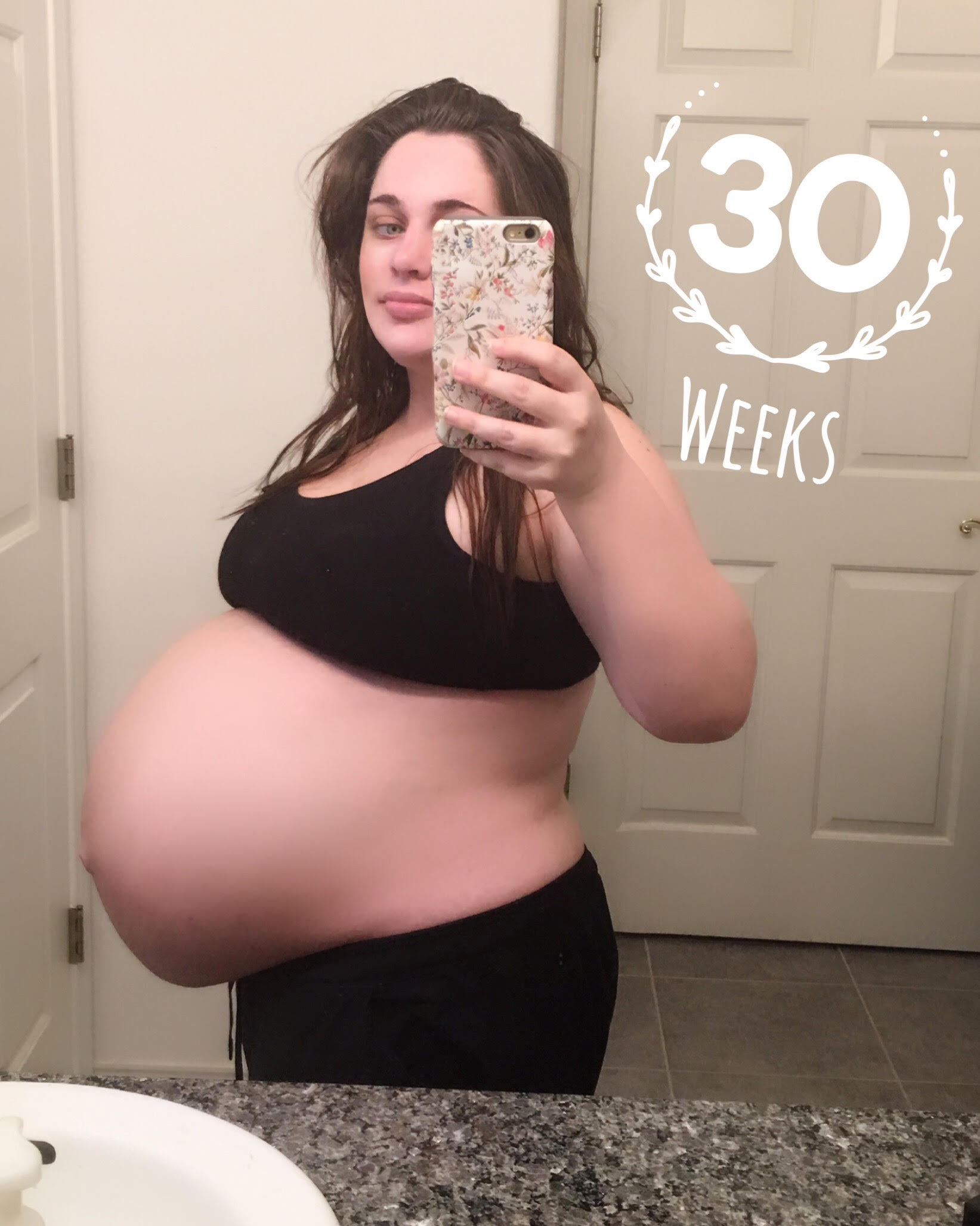 7 and half weeks pregnant