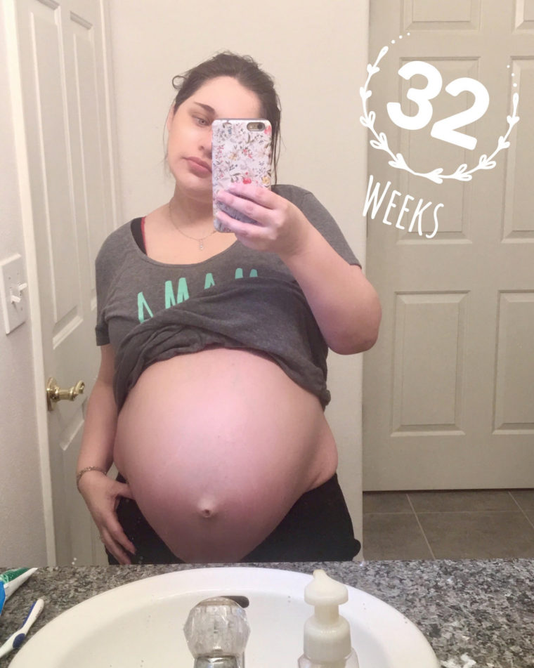 32 Weeks Pregnant With Twins Update - Budget Savvy Diva