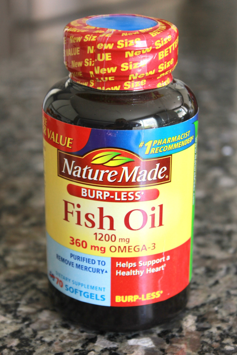 Easy tips for heart healthy substitutions in the kitchen for Fish oil for heart